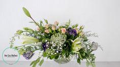 Lisianthus, lilis, baby rose, miller, limonium, clavo japones, eucalipto