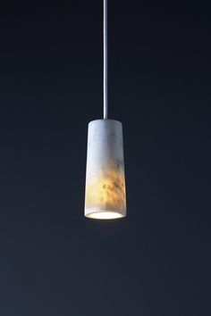 Core | Pendant in Carrara Marble by Terence Woodgate | General lighting