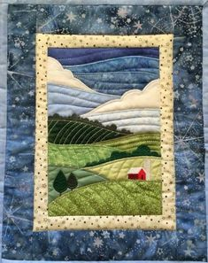 Ideas Patchwork Quilt Ideas Projects Wall Hangings For 2019 Patchwork Quilt Patterns, Quilt Patterns Free, Applique Quilts, Free Pattern, Sewing Patterns, Crazy Patchwork, Block Patterns, House Quilt Patterns, Embroidery Patches