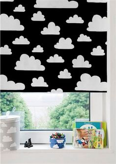 Black Cloud Roller Blind