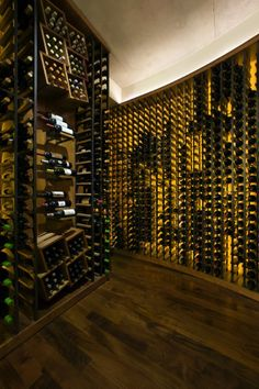 A dedicated space to store wine.