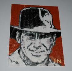 Indiana Jones hama perler beads by Mina pärlplattor