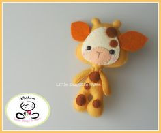 LITTLE GIRAFFE (PDF) This cute little friend is LITTLE GIRAFFE, perfect to be part of a cute baby mobile or as a present for anyone!! As always quick, easy and fun to make. This PDF document will give you instructions and patterns to hand-sew a lovely 5 inches GIRAFFE. **You will receive an electronic file with pattern and instructions. No physical items will be sent** This PDF includes: • List of materials needed (all easy to find) • List of tools to be used • Photo tutorial • Full size...