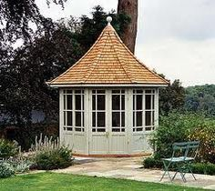 garden structures - what a darling structure
