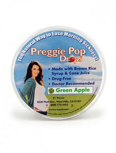 Preggie Pops to combat morning sickness. These are seriously amazing! www.thebump.com