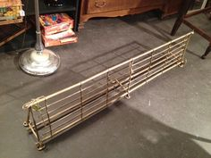 Vintage Brass Train Coat and Hat Rack by UpcycledUpstyled on Etsy, $295.00