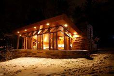 A Cabin by Frank Lloyd Wright