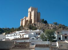 Castles of Spain - Castillo de Vélez-Blanco, Almería, Spain.  is located in the municipality of Vélez-Blanco, province of Almería, in the autonomous community of Andalusia, Spain. It was built by Governor of Murcia, Pedro Fajardo, 1st Marquis of los Vélez, following his appointment as Marqués. He set the headquarters of his new dominion by undertaking the construction of the local castle on the remains of an ancient and important Islamic citadel. It is situated on a hill overlooking the…