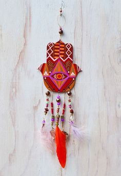 Hamsa of Protection + Courage // by Jessica Swift