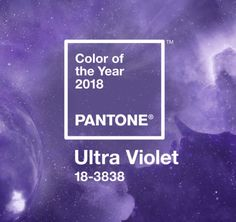 Pantone's Color of the Year 2018, Ultraviolet 18-3838