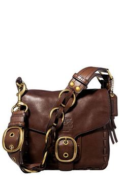 COACH BLEECKER LACED LEATHER LARGE FLAP   Nordstrom