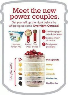 Overnight Oatmeal is my favorite! Prep ahead. grab and eat on the go. So easy and so yummy and good for you!
