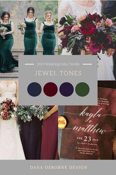 Jewel Tone Burgundy Navy Emerald Wedding Tones Color Dana Osborne Design is part of Wedding color trends - Green And Burgundy Wedding, Emerald Green Weddings, Blue Weddings, Winter Weddings, Burgundy Color, Emerald Wedding Theme, Emerald Green Bridesmaid Dresses, Red Color, What Is Wedding