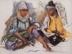 Imagen de https://artoftherussias.files.wordpress.com/2012/01/morocco-two-women.jpg.