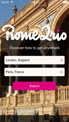 Rome2rio: rail, air, road and sea search on the App Store