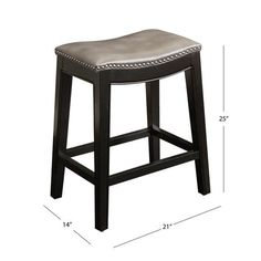 Abbyson Rivoli Grey Leather Nailhead Trim Gray Leather Counter Stool - On Sale - Overstock - 10119571 Grey Bar Stools, Leather Counter Stools, Nailhead Trim, Grey Leather, Home And Garden, Traditional, Furniture, House Ideas, Gray