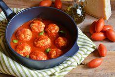 Ricotta Meatballs with Sauce.