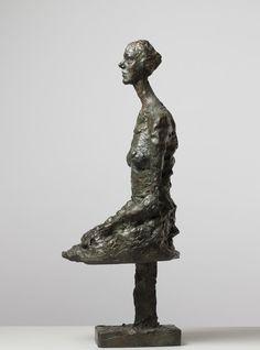 Alberto Giacometti Annette seduta 1960-ca