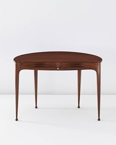 Peder Moos rosewood desk with inlays and ball-feet - circa 1940