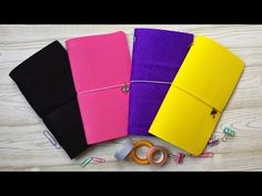 Ideas Paso A Paso, Hobonichi, Scrapbooking, Book Binding, Travelers Notebook, Moleskine, Filofax, Happy Planner, How To Make