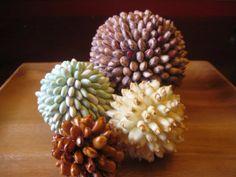 Country Bean Balls - Set of Four
