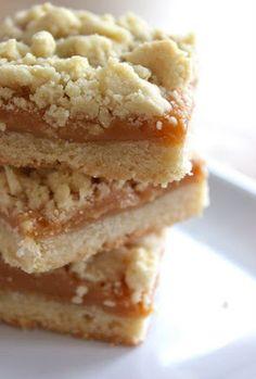 Baked Perfection  Caramel crumb bars