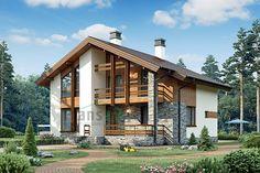 26 New Ideas For Exterior De Casas Campestres Cottage Style Homes, Cottage Design, House Design, Facade Design, Exterior Design, Architecture Design, Tiny House Exterior, Small Modern Home, Modern Architects