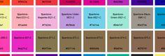 Pantone Sass A list of Pantone colors as Sass variables