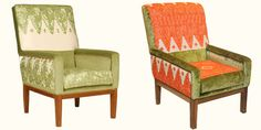 Just look at these chairs!  Wow! - lb