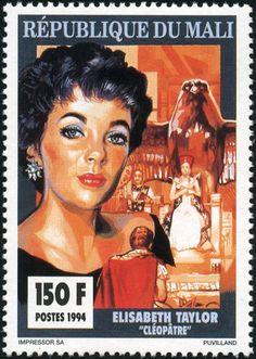 Elizabeth Taylor postage stamp