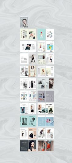 Fashion Lookbook  Catalog  Brochures Photobook Template