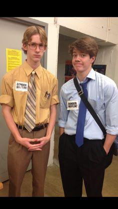 Cute Halloween costume...Jim and Dwight