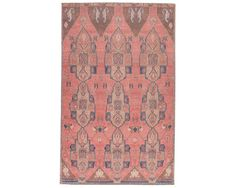 Kairos - KAR06 Anderson Furniture, Pink And Blue Rug, Power Loom, Animals For Kids, Fashion Prints, Colorful Rugs, Vintage Inspired, Contemporary, Pets