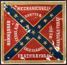 """Part 1: This Confederate battle flag is associated with the death of Lt. Gen. Thomas J. """"Stonewall"""" Jackson. The flag was carried by the 18th Regiment North Carolina Troops, which was responsible for the accidental shooting of the Confederate general at Chancellorsville, Va., on May 2, 1863. That fateful May 2 evening, the 18th North Carolina was in a line of battle ready to attack retreating Union troops. Jackson and his staff rode out in front of the Confederate line on reconnaissance."""