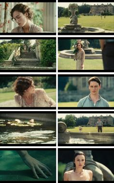 Atonement (2007), Expiación: Con James McAvoy y Keira Knightley. Dirigida por Joe Wright