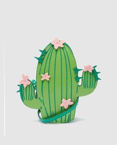 Bolso de niña Freestyle con forma de cactus
