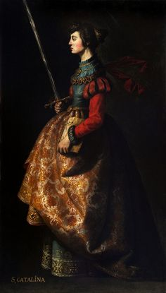 Francisco de Zurbarán Saint Catherine of Alexandria, c. 1635-40
