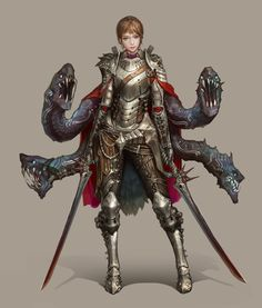 ArtStation - Knight, JeongSeok Lee