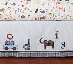 Pottery Barn Kids offers kids & baby furniture, bedding and toys designed to delight and inspire. Create or shop a baby registry to find the perfect present. Rustic Baby Bedding, Baby Boy Bedding Sets, Baby Boy Nursery Themes, Baby Boy Rooms, Baby Boy Nurseries, Baby Decor, Nursery Ideas, Baby Room, Nursery Decor