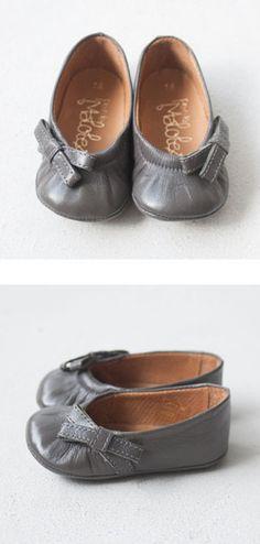 Little Grey Slip-On Shoes.