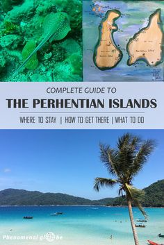 Complete guide to the tropical Perhentian Islands on the east coast of Malaysia: where to stay, how to get there & what to do. The Perhentians are famous for scuba diving and snorkeling, the underwater world is absolutely amazing! The beaches are pure white sand and the ocean is a vivid blue. A perfect place to relax for a couple of days!