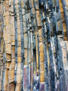 Rock strata cornwall
