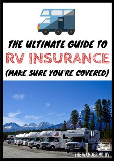 RV insurance can be confusing - especially if you live in your RV full-time or for more than 6 months out of the year. This guide everything about the different types of RV insurance, what they cover, and which is best for you. Rv Insurance Cost, Life Insurance, Travel Trailer Insurance, Insurance Business, Insurance Companies, Health Insurance, Travel Hack, Rv Travel, Van Life