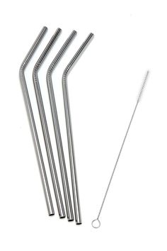 I love my stainless steel straws! I have been using them over a year and they look like the first day! Eco-friendly and better for you! click image for info on where to buy