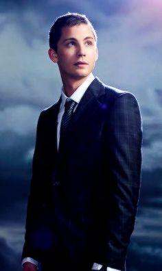 Logan Lerman Suit