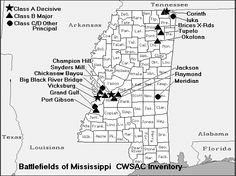 Mississippi Civil War Battles