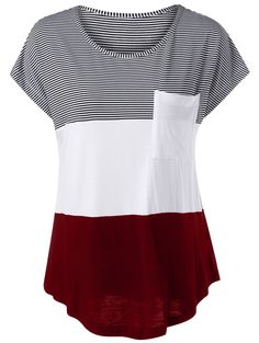 SHARE & Get it FREE | Cap Sleeve Asymmetrical Color Block T-ShirtFor Fashion Lovers only:80,000+ Items • New Arrivals Daily • Affordable Casual to Chic for Every Occasion Join Sammydress: Get YOUR $50 NOW!