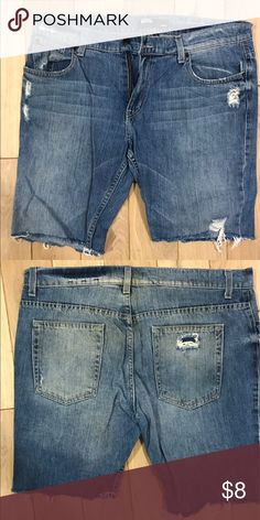 Urban Outfitters BDG Distressed Cut Off Jean Short