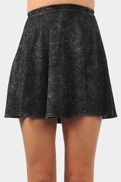 #Necessary Clothing       #Skirt                    #Acid #Days #Mini #Skirt #Black                     Acid Days Mini Skirt - Black                                                  http://www.seapai.com/product.aspx?PID=9972