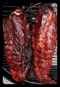 How to Smoke Baby Back Ribs Recipe - Snapguide Smoked Meat Recipes, Rib Recipes, Grilling Recipes, Recipies, Chicken Recipes, Slow Cooking, Smoker Cooking, Receta Bbq, Barbecue Ribs